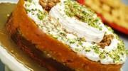 Cevizli Balkabaklı Pasta