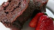 Çilekli Çikolatalı Kek