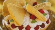 Çilekli Kelebek Pasta