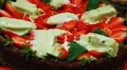 Dondurmalı Çilekli Pasta