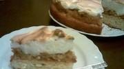 Elmalı ve Merengli Pasta