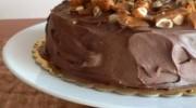 Fındık Krokanlı ve Çikolatalı Pasta